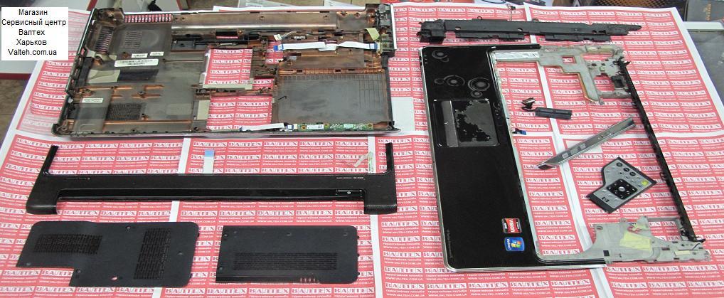Нижняя часть корпуса HP Pavilion DV6, DV6-2030er