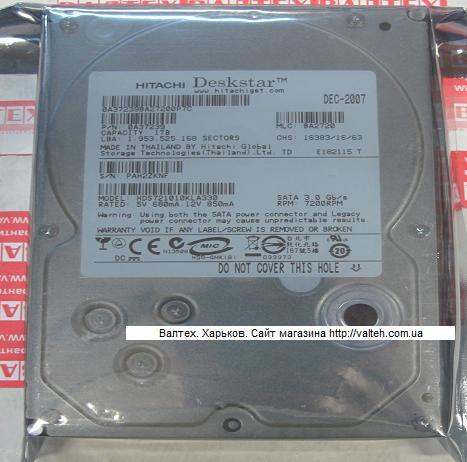 Жесткий диск 1 Тб 3.5 SATA 2