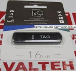 Флешка 16 гб T&G TG011-16GBBK Black