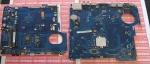 Нерабочая материнская плата для ноутбука Samsung RV513 на запчас