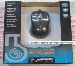 Мышка для ноутбука Flyper Delux FDT-42 USB Black