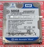 Жесткий диск 500 Гб 2.5 SATA 2 WD WD5000BEVT