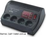 Стабилизатор напряжения Luxeon VK-1000E черный
