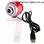 Веб камера DeTech FM368 RED