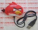 Четырехпортовый usb-хаб Angry Birds Red