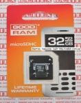 Карта памяти MicroSd 32gb class 4 Goodram