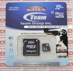 Карта памяти MicroSd 32gb class 10 Team