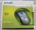 Мышка для пк Delux DLM-505B USB Silver Black