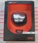 Мышка для ноутбука NeoDrive SF-1099 USB Black Silver