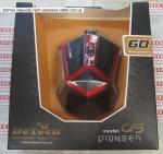 Игровая мышь DeTech G5 Black&Red