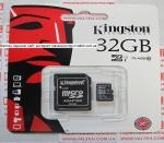 Карта памяти MicroSd 32gb class 10 Kingston