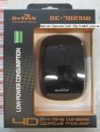 Беспроводная мышка DeTech DE-7025W Black
