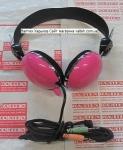 Наушники с микрофоном Kanen KM-530 Pink