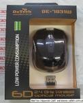 Беспроводная мышка DeTech DE-7031W Black