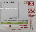 Вай фай адаптер для пк Tenda W311MA