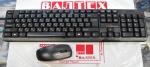 Радио клавиатура и мышь Logicfox LF-KM 104 Black