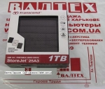 Внешний жесткий диск 1 тб Transcend TS1TSJ25A3K USB 3.0 Black