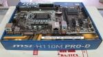 Материнская плата MSI H110M PRO-D