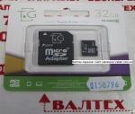 Карта памяти microSDHC 32Gb Class 10 TG-32GBSDCL10-01