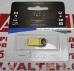 Металлическая флешка 16 гб T&G 108 Metal TG108-16GD Gold