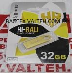 Флешка 32 Гб Hi-Rali Shuttle Series Gold HI-32GBSHGD