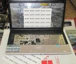 Корпус, петли для MSI VR430 Model MS-1437