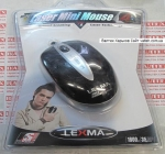 Лазерная мышка для ноутбука Lexma M529 USB Black