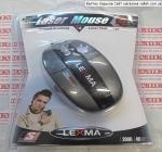 Лазерная мышка для ноутбука Lexma M540 USB Black
