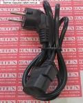 Сетевой шнур для компьютера 1 метр