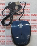 Мышка для пк DeTech DE-3062 USB Shiny Blue