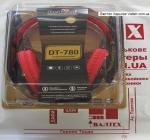 Наушники с микрофоном DeTech DT-780 RED