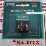 Батарейка крона Logic Power 6LR61