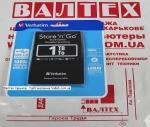 Внешний жесткий диск 1 тб Verbatim 53023 USB 3.0 Silver