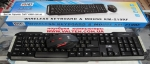 Радио клавиатура и мышь HQ-Tech KM-219RF Gray