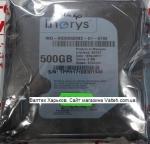 Жесткий диск 500 gb 3.5 sata 2 I.NORYS INO-IHDD0500S2-D1-5708