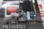 Видеокарта Radeon HD6450 1Gb DDR3 Sapphire 299-2E164-140SA