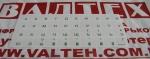 Наклейки на клавиатуру вариант 16