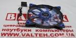 Кулер для корпуса ПК Vinga 12025-15-B 1 molex голубая подсветка