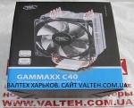 Универсальный кулер процессора Deepcool GAMMAXX C40